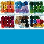 Crystal Metallic [12 Pack x 15grs] - Multi-color Pack | Crochet Thread Yarn | Me