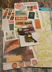craft ephemera pendant  stickers rub on for cards scrapbooks collages journals