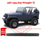 NEW Front Bumper Black Steel for 1987 1995 Jeep Wrangler YJ