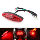 50,000 Hours 12V 15 LED Motorcycle Brake Tail Light Stop Rear Lamp Spare Tool