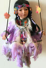 Native American Porcelain Dolls Limited Edition Collectible Porcelain doll New