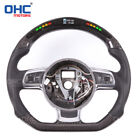 LED Display Performance Steering Wheel for Audi A4 S3 S4 RS3 RS4 RS5 TT TTS R8