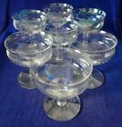 Vintage Pearlescent Champagne glasses 7