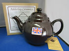 GENUINE BROWN BETTY Red Clay Rockingham Glaze 4 Cup Tea Pot MADE IN ENGLAND