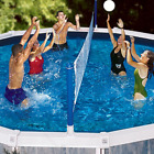 Pool Volleyball Set For Above Ground Pool Net Swimming Water Fun Play Kid Family
