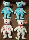 TY Beanie Baby Nipponia & Chinook 4 Pack! (Read Description For Details)