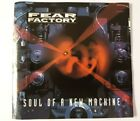 FEAR FACTORY Soul Of A New Machine CD 90s Death Metal 1992 Pressing Roadrunner