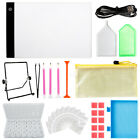 5D Diamond Painting Tools and Accessories Kits with Light Pad Adults Kids 22PCS