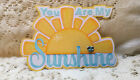 You are my Sunshine title paper piecing Premade Scrapbook Pages