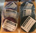 Lot of 6 MPR Creative Twist Twisted Paper Crafts Floral Ribbon