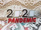 PANDEMIC title paper piecing Premade Scrapbook Pages