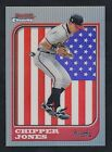 1997 BOWMAN CHROME CHIPPER JONES INTERSTATE REFRACTOR SP ATLANTA BRAVES