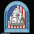 SPACEX DM 2 FIRST CREWED FLIGHT ORIGINAL 45 SW USAF F9 ISS NASA 5 PATCH