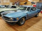 1970 Ford Mustang 1970 Ford Mustang Boss 302 Rare W Code Axle Factory Oil Cooler
