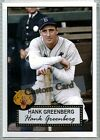 Hank Greenberg Cards, Rookie Cards and Autographed Memorabilia Guide 9