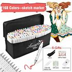 80 168 218 Color Markers Pen Graphic Art Sketch Twin Tips Fine Point Broad USA