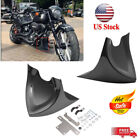 Chin Fairing Front Spoiler For Harley Touring Sportster Dyna 2004-2017 US Stock