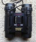 RUGGED EXPOSURE Binoculars Compact 8x21 365ft 1000yds with Case one owner