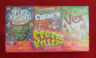 Wax-Eye CEREAL KILLERS Series 2: Trading Card & Sticker Mini-Cereal 3pk Box Set