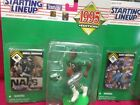 1995 RANDALL CUNNINGHAM # 12 PHILADELPHIA EAGLES STARTING LINEUP FIGURE & CARD