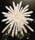 Huge 14 Crystal Star Xmas Tree Topper Nativity Twinkling Lights Twinkle Sparkle