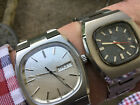 2 x Vintage Certina & Accurist ( tv set) S/S Mens Automatic Watches No Reserve