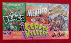 Wax-Eye CEREAL KILLERS SERIES 2 AUTOGRAPH @@ JOE SIMKO @@ 3 - BOX SET