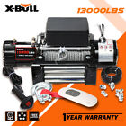 X BULL Electric Winch 13000LBS 12V 4WD Recovery Winch Steel CableTowing truck