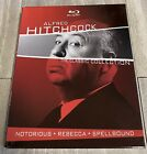 Alfred Hitchcock The Classic Collection Blu ray Disc 2013 3 Disc Set