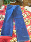 Vintage 70s 80s Levis 517 Factor Red Flannel Lined Jeans Dark VERY Nice 33x32