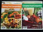 VERY NICE Set Weight Watchers Complete Food  Dining Out Companion Book Set 2006