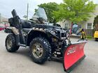 CAMO BROWNING EDIT POLARIS SPORTSMAN 850 EPS BOSS HYDR PLOW BRAND NEW TIRES
