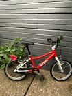 Red Woom 3 bike only a little more than a year old Our daughter had a big