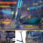 Mongoose Stance Freestyle Scooter Throwback Edition Beginners Stunt Style Blue