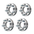 4Pcs Wheel Spacers Adapters 5X45 5X1143 to 5X120  125  1 2x20 Stud