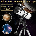 Refractive Astronomical Telescope 114x1000mm High Definition Night Vision