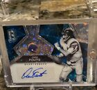 2017 Spectra Dan Fouts Blue Disco Prizm Auto 15 Chargers