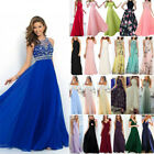 Women Formal Wedding Bridesmaid Evening Party Cocktail Ball Prom Gown Maxi Dress