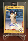 2020 TOPPS NOW Turn Back The Clock # 26A DAVID WRIGHT AUTO Autograph 14 49 METS