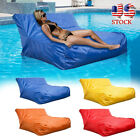 Large Bean Bag Chair Sofa Couch Cover Indoor Outdoor Kids Adult Swimming Pool