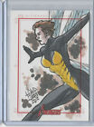 Wasp 2012 Marvel Greatest Heroes The Avengers Sketch Card Jay David Lee 1 1