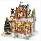 Lemax Christmas SANTA'S WORKSHOP #35558 NRFB Sights & Sounds Wonderland Village*