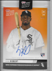 2020 Topps NOW OS-60E LUIS ROBERT ON-CARD AUTO #'d 1 5 WHITE SOX ROOKIE