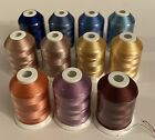 New Lot Of 11 ROBINSON-ANTON TEXTILE CO / Embroidery Thread 1100 YDS Multi Color
