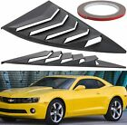 Side Cover Scoops Sun Shade For Chevy Camaro Quarter Window Louvers 2010 2015
