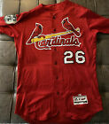 Seung Hwan Oh 2017 Game Used St. Louis Cardinals Jersey MLB HOLO Authentic L@@K