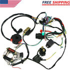 50cc 125cc CDI PIT Wire Harness Stator Assembly Wiring ATV Electric Quad Kit