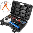 71500 Hydraulic A C Hose Crimper Kit Air Conditioning Repair Tools w Cutter