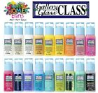 Gallery Glass Window Colours 2oz 59ml bottles Quality GLASS PAINT Made by PLAID