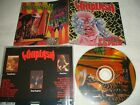 WHIPLASH - Power and Pain + Ticket to Mayhem  CD  1998  Displeased  Slayer